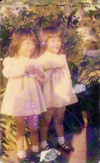 Natalie Mishka as children